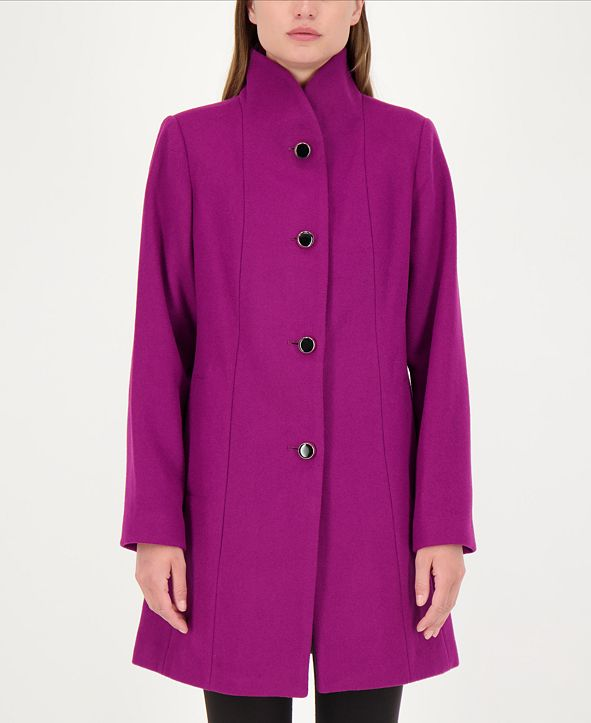 kate spade new york Stand-Collar Coat