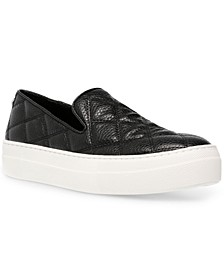 Women's Globe Quilted Sneakers
