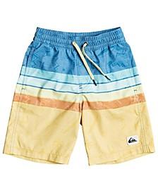 Quicksilver Little Boys Magic Volley 14 Swim Trunks