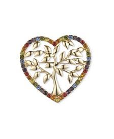 Heart Tree Pin