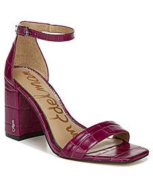 Sam Edelman Women's Daniella Two-Piece Block-Heel Sandals