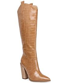 Vanya High-Heeled Western Boots
