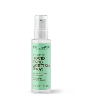 NatureWell Advanced Liquid Hand Sanitizer Spray, 2 oz
