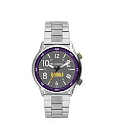 Men's Outbacker LSU Stainless Steel Bracelet Watch 45mm