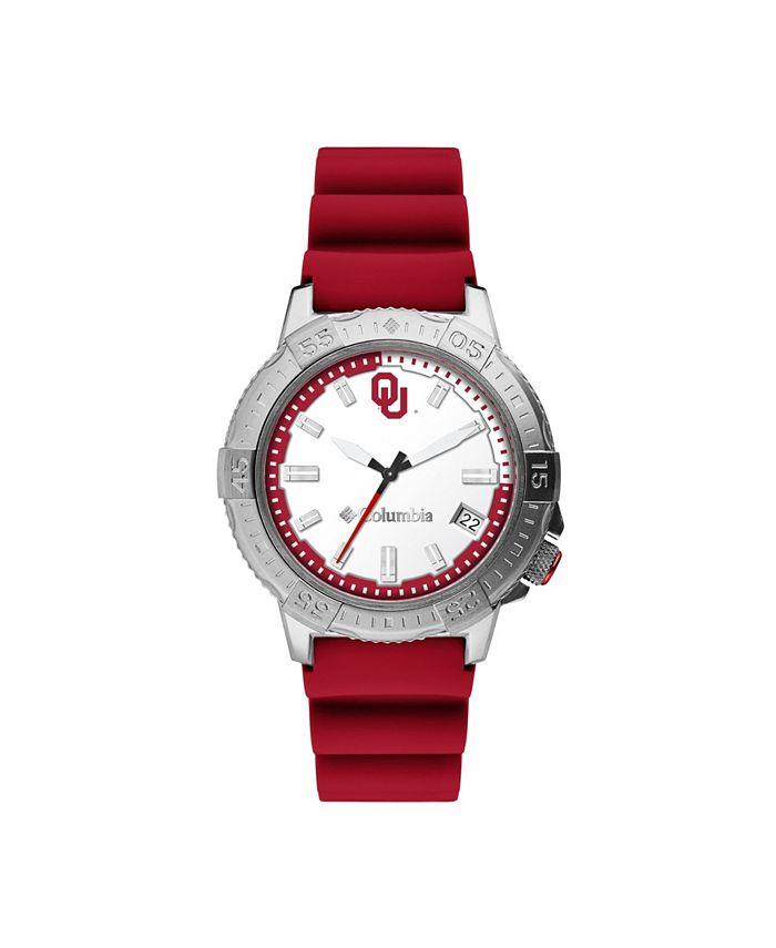 Columbia - Men's Peak Patrol Oklahoma Silicone Strap Watch 45mm