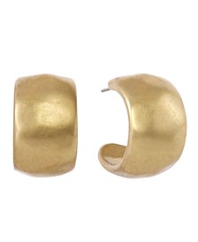 Tapered Hoop Earrings