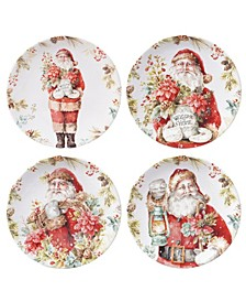 CLOSEOUT! Christmas Story 4 Piece Dessert Plate