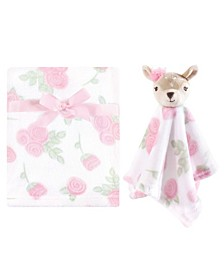 Boys and Girls Blanket with Security Blanket