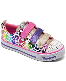 Little Girls Twinkle Toes Twinkle Lite - Sparkle Spots Stay-Put Closure Light-Up Casual Sneakers from Finish Line