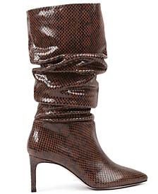 Women's Marlo-W Wide Calf Slouch Boot
