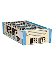 Cookies 'N' Creme Candy Bar, 1.55 oz, 36 Count