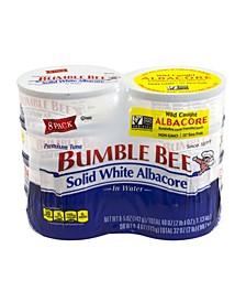 Solid White Albacore Tuna, 5 oz, 8 Pack