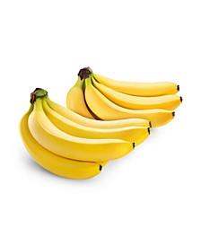 Organic Bananas, 2 Bunches, 6 lbs