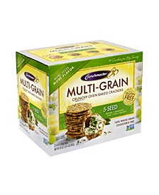 5-Seed Multi-Grain Crunchy Oven Baked Crackers, 20 Ounce