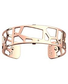 Exotic Spots Openwork Thin Adjustable Cuff Girafe Bracelet, 14mm, 0.5in