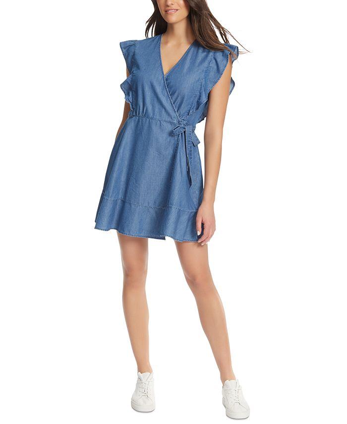 Ella Moss - V-Neck Wrap Dress