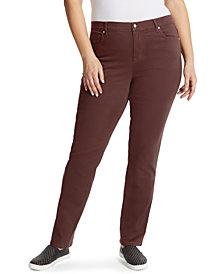 Gloria Vanderbilt Women's Plus Amanda Short Length Jean