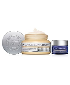 Limited Edition Value Set - Full-Size Confidence in a Cream and Travel-Size Confidence in Your Beauty Sleep. Only $46, A $66 Value!