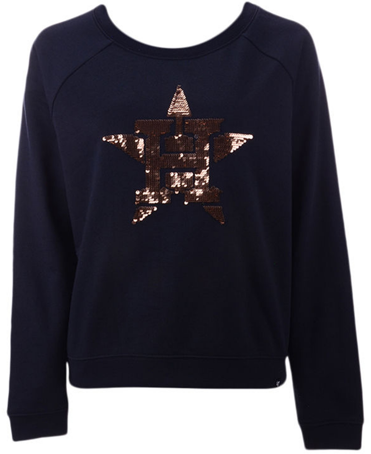 47 Brand Womens Houston Astros Cosmo Crew Sweatshirt