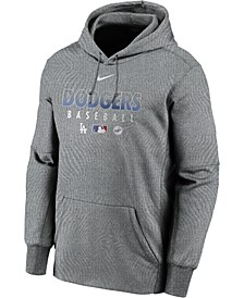 Men's Los Angeles Dodgers Authentic Collection Therma Dugout Hoodie