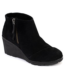 Women's Avery Wedge Booties