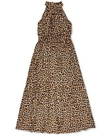 INC Cheetah-Print Maxi Dress, Created for Macy's