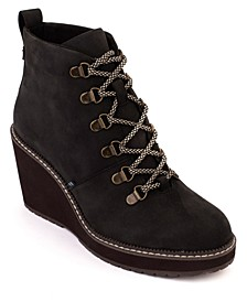 Women's Melrose Wedge Lug Sole Hiker Booties