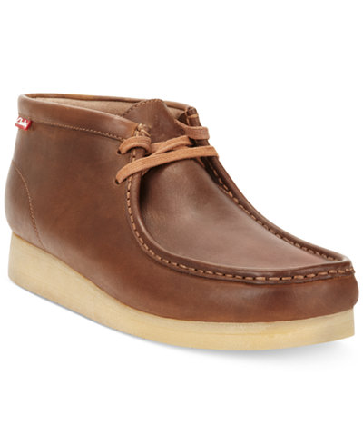Clarks Men's Stinson Hi Top Wallabee Boots - All Men's Shoes - Men ...
