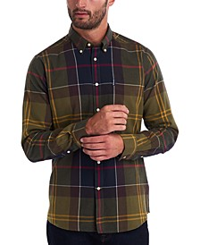 Men's Tartan Tailored Shirt