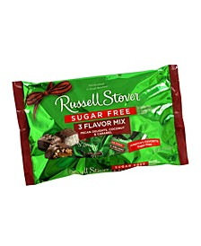 Sugar-Free 3-Flavor Mix Pecan Delights, Coconut and Caramel, 10 oz, 2 Pack