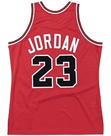 Men's Chicago Bulls Authentic Jersey Michael Jordan