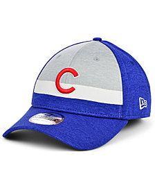 New Era Chicago Cubs Striped Shadow Tech 39THIRTY Cap