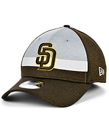 San Diego Padres Youth Striped Shadow Tech 39THIRTY Cap