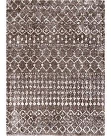 Barbara GROC01C Brown 4' x 6' Area Rug