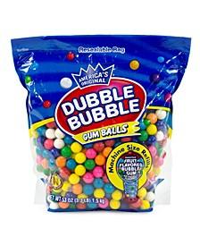 Original Dubble Bubble Gum Balls 3.3 lbs