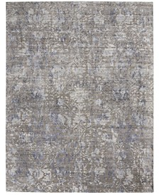 "Lucent LCN03 Gray 7'9"" x 9'9"" Area Rug"