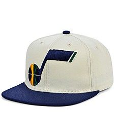Utah Jazz Natural XL Snapback Cap