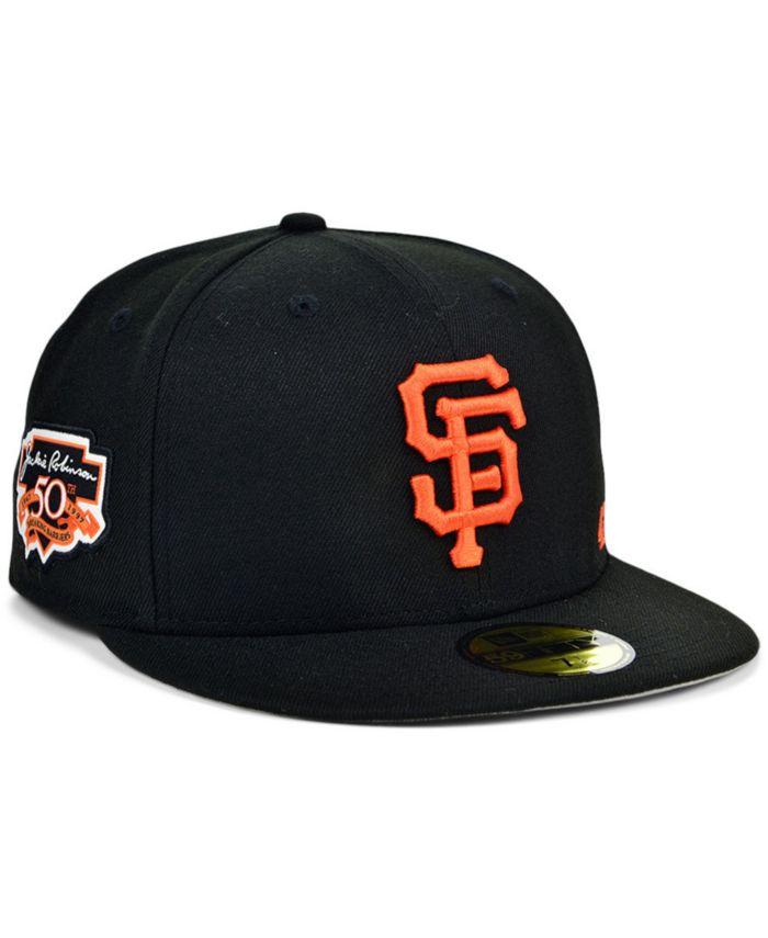 New Era San Francisco Giants Jackie Robinson 50th Patch 59FIFTY Cap & Reviews - Sports Fan Shop By Lids - Men - Macy's