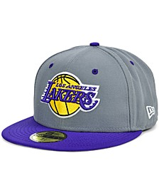 Los Angeles Lakers Storm 2 Team Color 59FIFTY-FITTED Cap