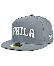 Men's Philadelphia 76ers Storm Solid Team 59FIFTY-FITTED Cap