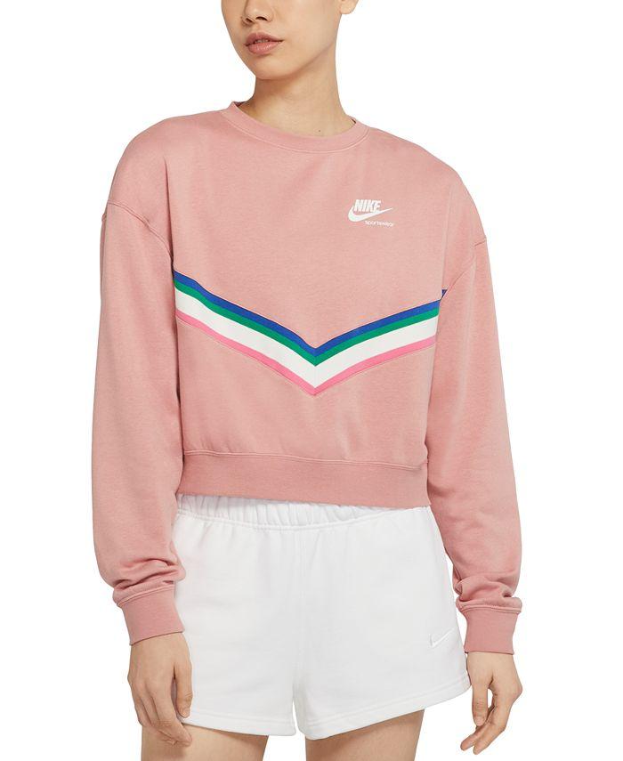 Nike - Sportswear Heritage Fleece Sweatshirt
