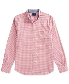 Men's Gingham Poplin Shirt