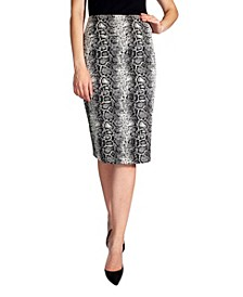 Women's Pull On Pencil Skirt