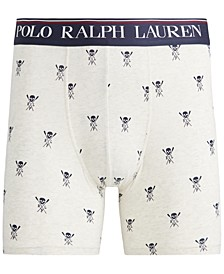 Men's Printed Stretch Boxer Briefs
