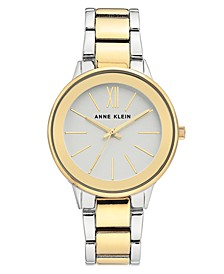 Women's Two-Tone Bracelet Watch 37mm