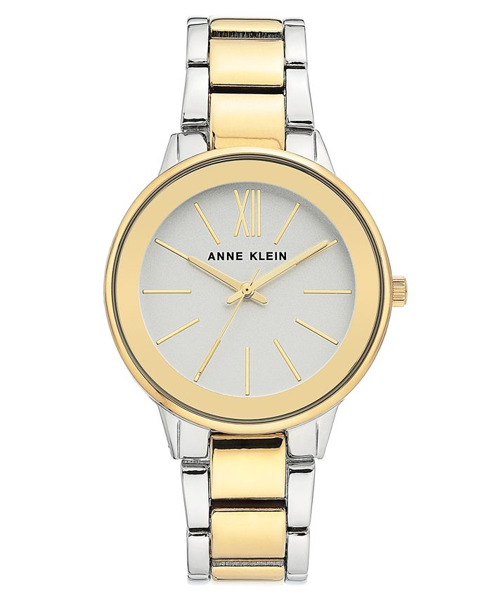 Anne Klein - Women's Two-Tone Bracelet Watch 37mm
