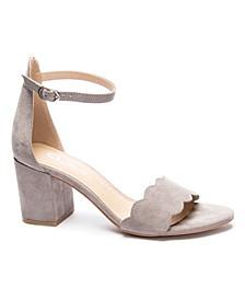 Jayne Block Heel Sandal