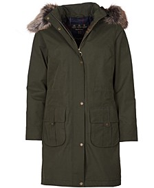 Lynn Waterproof Hooded Parka Coat