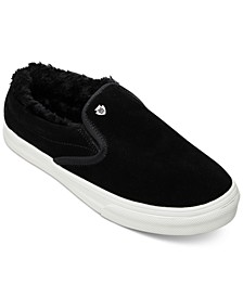 Wilder Pile-Lined Slip-On Sneakers