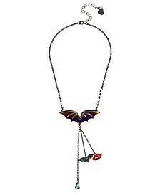 Bat Y-Necklace